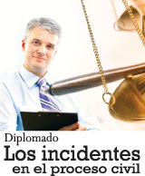 los incidentes en el proceso civil
