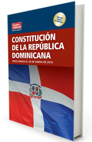 Resultado de imagen para imagen de la constitucion republica dominicana